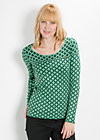good fairy longsie, green starshower, Pullover, Grün