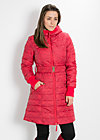 magic moonwalk coat, warm wind rose, Jacken, Rot