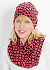 miss baroque catching hat, red starshower, Accessoires, Rosa
