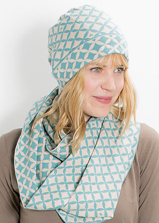 miss baroque catching hat, gray starshower, Hüte/Mützen, Blau