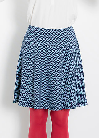 rocket skirt, sky waves, Skirts, Blau