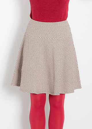rocket skirt, soft waves, Jerseyröcke, Braun