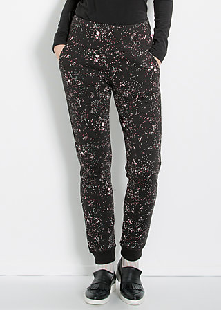 stand up joggpants, shuttle to the moon, Jog Pants, Schwarz