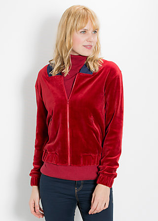 tiny bomber zip, hot temptation, Cardigans, Rot