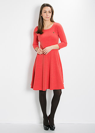 transatlantic tanzdress, active waves, Jersey Dresses, Orange
