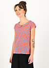 Jersey T-Shirt botanical bubi, bloemenmarkt, Shirts, Red
