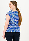 Jersey T-Shirt botanical bubi, dutch delft, Shirts, Blau