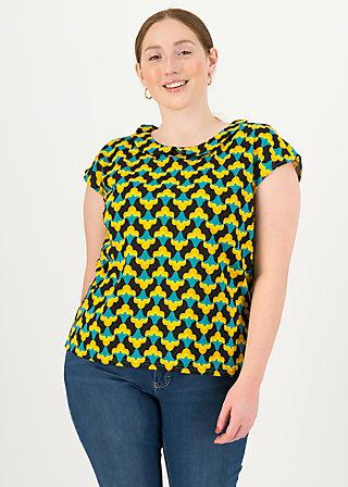 Jersey T-Shirt botanical bubi, tulpé olé , Shirts, Schwarz