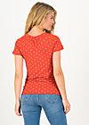 Jersey Top carmelita, bloemen meisje, Shirts, Red