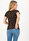 Jersey Shirt carmelita, cherry ladybug, Shirts, Schwarz