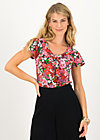 Jersey Shirt carmelita, eau de bloem, Shirts, Lila