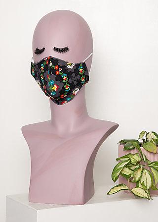 community mask (1 pcs), ene mene meester, Schwarz