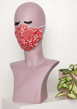 community mask (1 pcs), voulez vous schaduw, Red