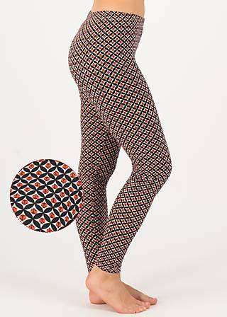 Baumwollleggings fantastisch elastiek, kleene keever, Leggings, Weiß
