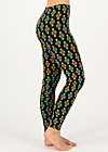 Baumwollleggings fantastisch elastiek, chic antiek, Leggings, Schwarz