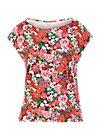 Jersey T-Shirt flowgirl, eau de bloem, Shirts, Lila