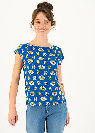 Jersey T-Shirt flowgirl, appel en peren , Shirts, Blau