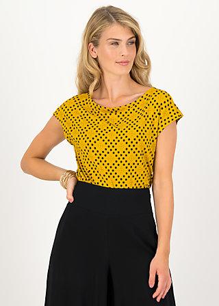 Jersey T-Shirt flowgirl, zondag zon , Shirts, Gelb