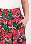 Summer Skirt fruits of the garden, hot house, Skirts, Purple