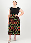 Summer Skirt fruits of the garden, laatste lieve, Skirts, Black