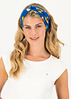 Haarband knot of knowledge, appel en peren , Accessoires, Blau
