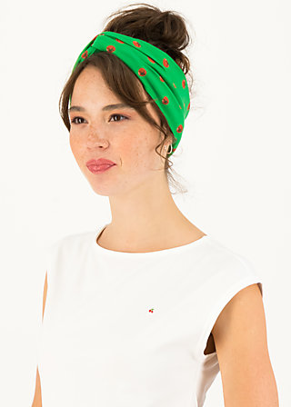 Headband knot of knowledge, ketchup party, Accessoires, Green
