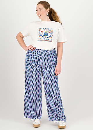 High Waisted Trousers lady flatterby, tulip tulburg, Trousers, White