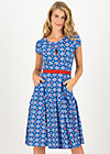 Sommerkleid shine on goddess, windmolen land, Kleider, Blau