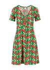 Summer Dress small and fijn, cherry caprese, Dresses, White
