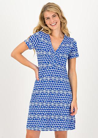Summer Dress small and fijn, dutch delft, Dresses, Blue