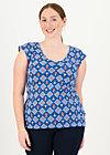 Jersey Shirt summer sun, windmolen land, Shirts, Blau