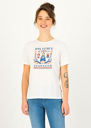 T-Shirt sweet temptation, bright white, Shirts, White