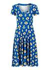 Summer Dress urlaub auf balkonien, appel en peren , Dresses, Blue