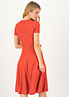 Summer Dress urlaub auf balkonien, bloemen meisje, Dresses, Red