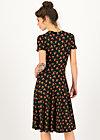 Sommerkleid urlaub auf balkonien, cherry ladybug, Kleider, Schwarz