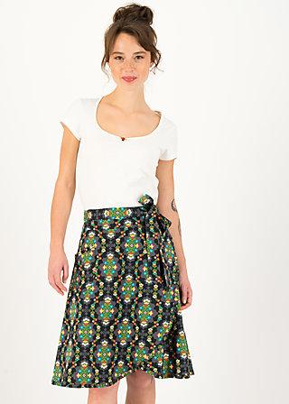 Wrap Skirt wickel wackel, ene mene meester, Skirts, Black