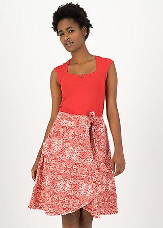 Wrap Skirt wickel wackel, voulez vous schaduw, Skirts, Red