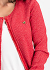 ladyklappe cardigan, christmas red, Jumpers & lightweight Jackets, Red