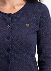 ladyklappe cardigan, new eve blue, Jumpers & lightweight Jackets, Blue