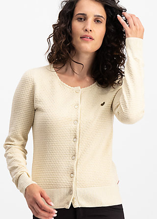 ladyklappe cardigan, winter white, Jumpers & lightweight Jackets, White