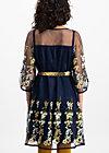 robe de coralie , ice floral tulle, Dresses, Blue