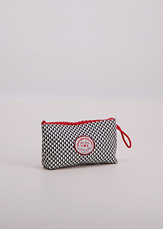 sweethearts washbag, black and white, Washbags, Schwarz