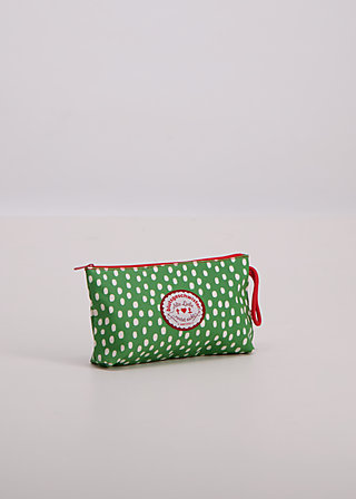 sweethearts washbag, daily dot, Washbags, Grün