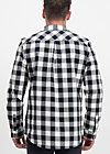 the true cowboys shirt, daltons check, Blutsbruder, Schwarz