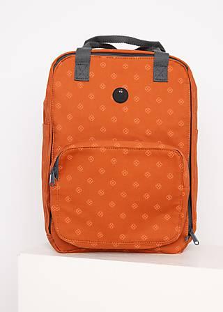 Rucksack colorful mind pack, apri coat, Accessoires, Braun