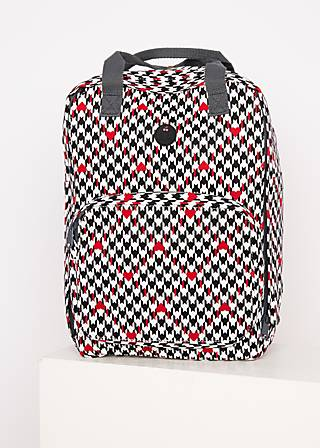 Backpack colorful mind pack, classic chic, Accessoires, White