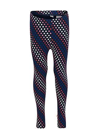 Kinder-Leggings herbstfreuden termolegs, stars n` stripes, Leggings, Blau