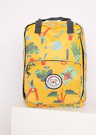 Rucksack lovepack, let love grow, Accessoires, Gelb