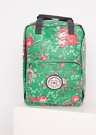 Rucksack lovepack, springtime soul, Accessoires, Grün