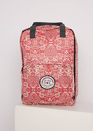 Rucksack lovepack, voulez vous schaduw, Accessoires, Weiß